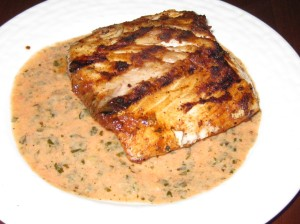 Grilled Mahi Mahi with Tequila-Lime Sauce